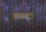 """Гирлянда """"Светодиодный Дождь"""" 2х1,5м, эффект мерцания, черный провод, 220В, диоды КРАСНЫЕ, NEON-NIGHT"""
