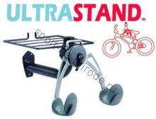 Крепление велосипеда на стену Ultra Stand (за раму) с полкой для шлема