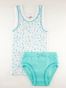 Комплект нижнего белья для девочки Крокид К1062