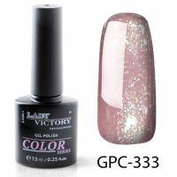 Цветной гель-лак с мерцанием Lady Victory, 7,3 ml GPC-333