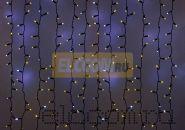 """Гирлянда """"Светодиодный Дождь"""" 2х3м, эффект мерцания, черный провод, 220В, диоды ЖЁЛТЫЕ, NEON-NIGHT"""