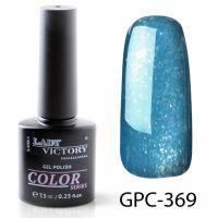 Цветной гель-лак с мерцанием Lady Victory, 7,3 ml GPC-369