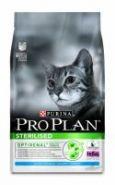 Сухой корм для стерилизованных кошек ПРО ПЛАН с кроликом, 3 кг