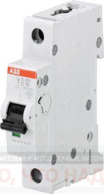 Автоматический Выключатель 25А 1Р ABB S201