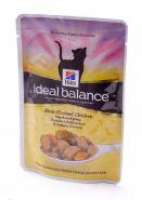 Hill's Ideal Balance Adult Для взрослых кошек с курицей и овощами (85 г)