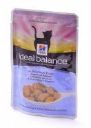Hill's Ideal Balance Adult Для взрослых кошек с форелью и овощами (85 г)
