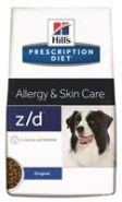 Hill's PD Canine z/d Allergy & Skin Care Диетический корм при аллергии (3 кг)