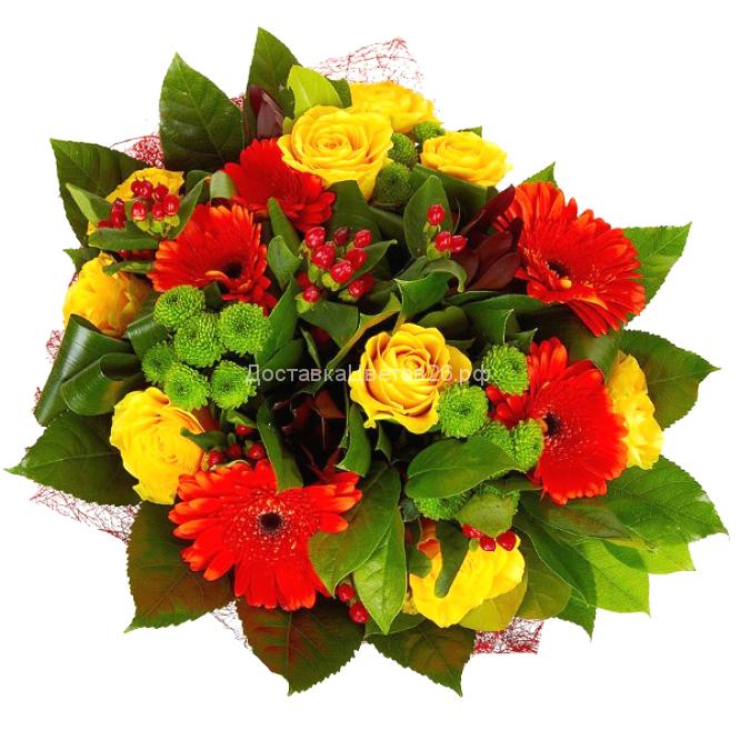 Букет Искушение цветом