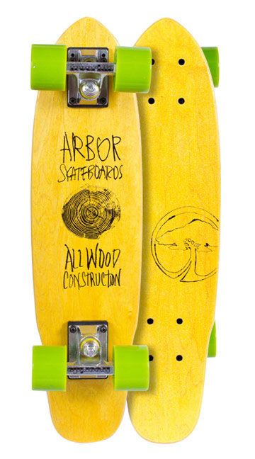 ARBOR 15 WOODEY YELLOW 24'' ЛОНГБОРД