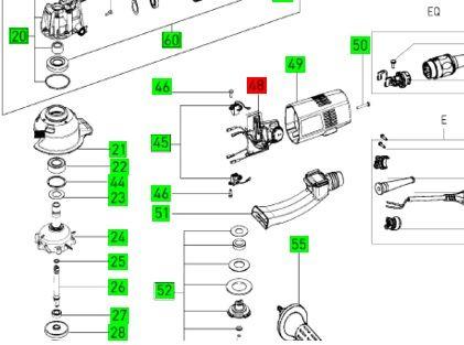 Электроника для Rotex 150 FEQ Festool 230 V