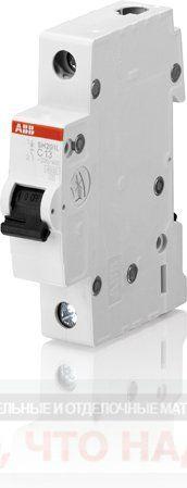 Автоматический Выключатель 6А 1Р ABB SH201L хар.C 4,5kA 2CDS241001R0064