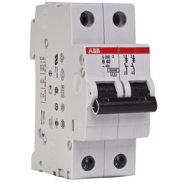 Автоматический Выключатель40A 2Р ABB SH202L