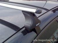 Багажник на крышу Chery Bonus, Атлант, аэродинамические дуги, опора Е