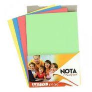 Бумага цветная А4 250л Nota пастель 4цв по 30л+белая 130л