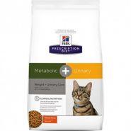 Hill's PD Feline Metabolic + Urinary Диетический корм для коррекции веса и профилактики МКБ (1,5 кг)
