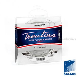 Леска монофильная Team Salmo FLUOROCARBON Troutino Soft 150 м