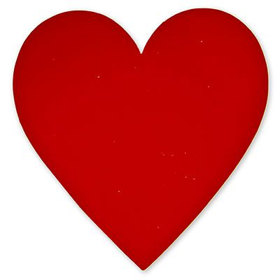 Картинка Сердечко красное, 27 см