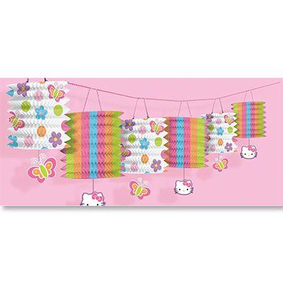 Гирлянда-фонарики Hello Kitty 360 см