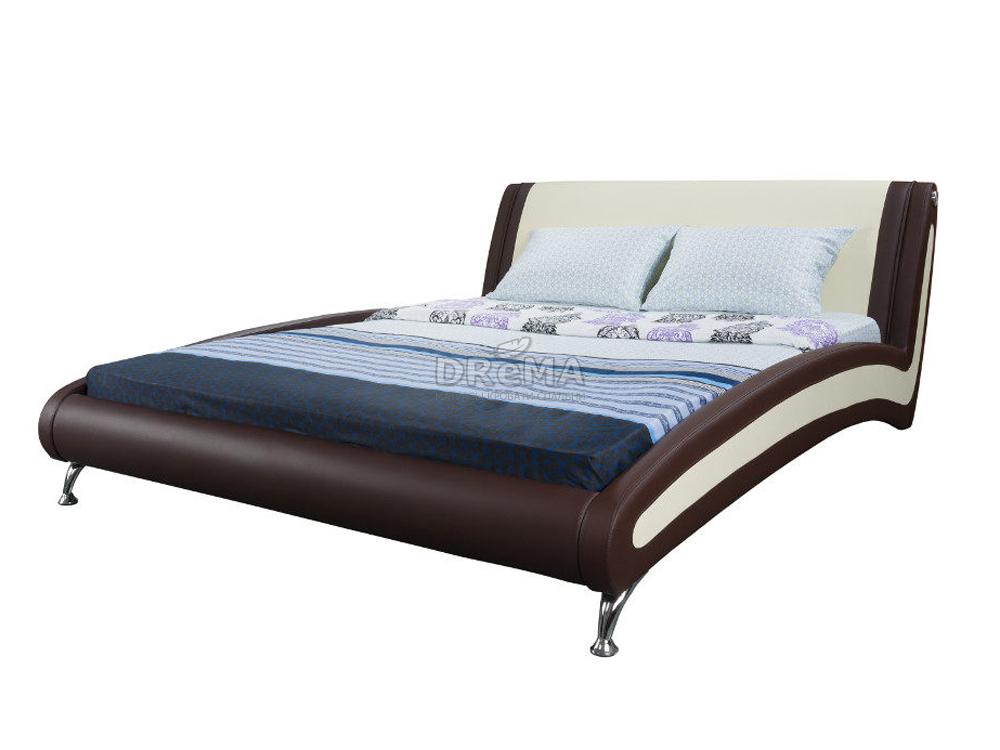 кровать Corso 2 двуспальная кровать из экокожи купить с доставкой