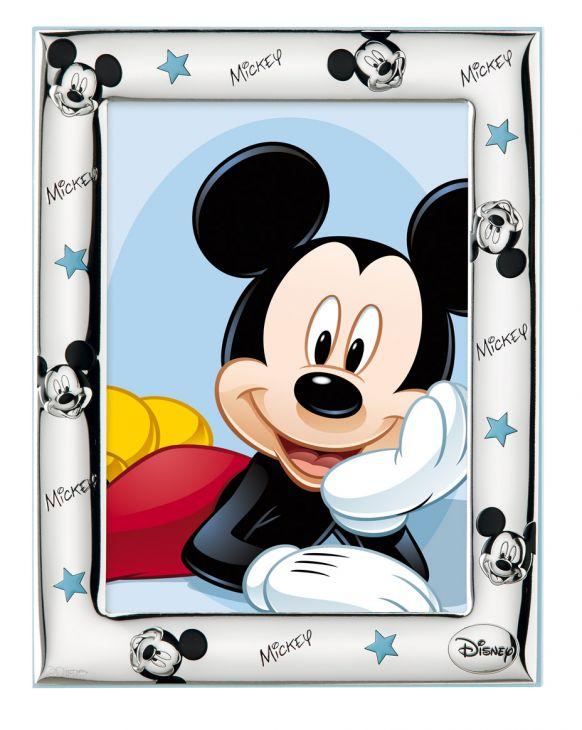 Детская серебряная фоторамка Disney, для фото размером 9*13см. (Италия)