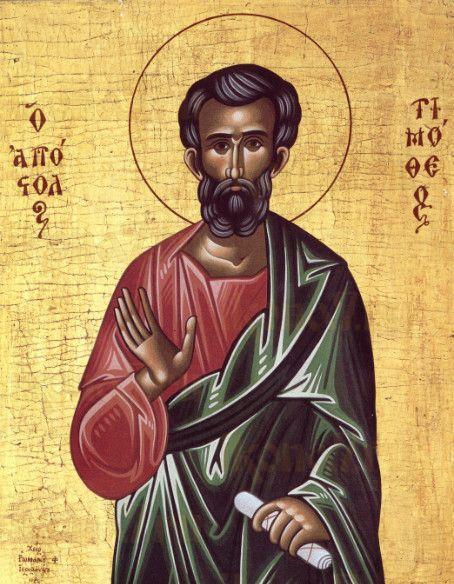 Икона Тимофей, апостол