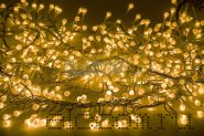 """Гирлянда """"Мишура LED"""" 3 м 288 диодов, цвет желтый"""