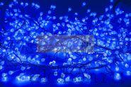 "Гирлянда ""Мишура LED"" 3 м 288 диодов, цвет синий"