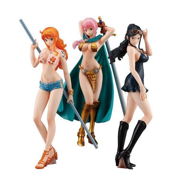 Комплект фигурок One Piece: Girls Selection