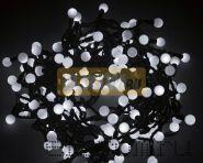"""Гирлянда """"LED - шарики"""", Ø17,5мм, 20 м, цвет свечения белый, 220В, Neon-Night"""
