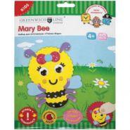 """Набор для аппликации 3D """"Пчёлка Мэри"""" из EVA, (арт. AP3D011)"""