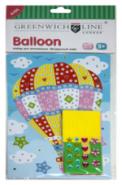 """Набор для аппликации """"Воздушный шар"""" (арт. MS003D)"""