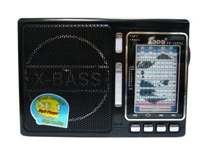 Радиоприёмник Fepe FP-1337U р/п сетев (USB)