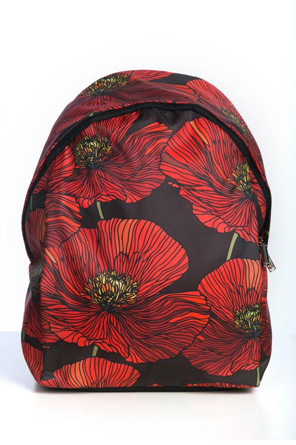 Рюкзак ПодЪполье Red poppies