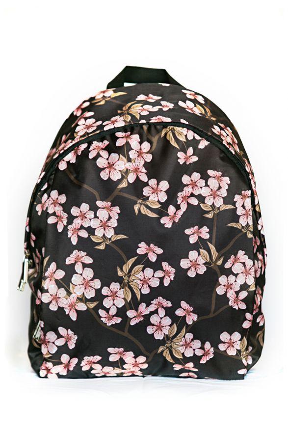 Рюкзак ПодЪполье Flowers on black