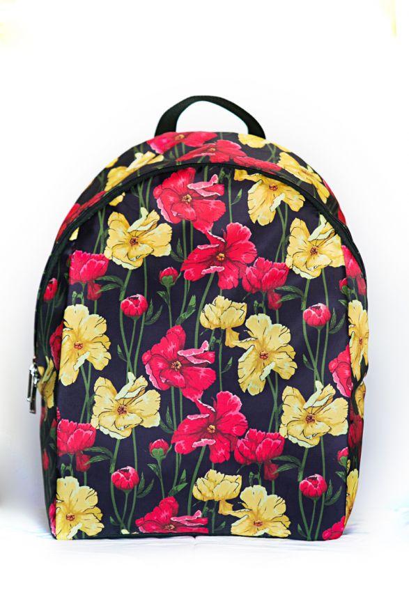 Рюкзак ПодЪполье Red and yellow flowers