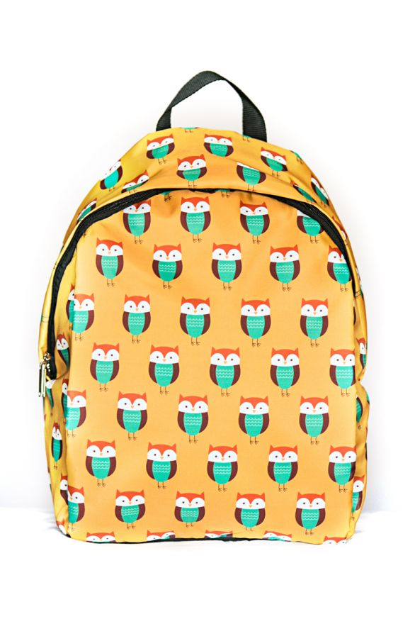 Рюкзак ПодЪполье Owl on yellow