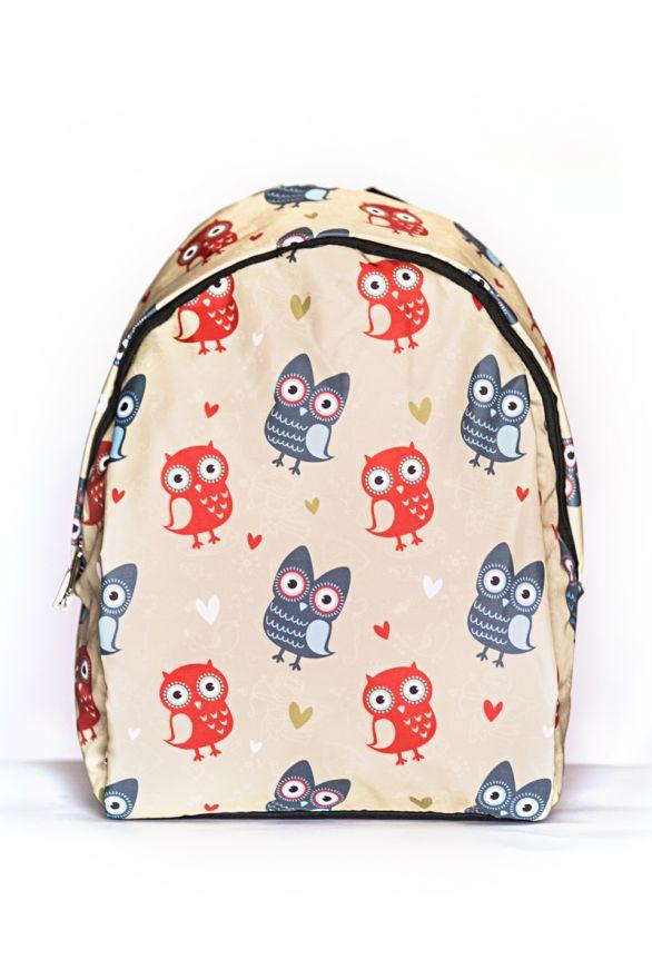 Рюкзак ПодЪполье Red and gray owls