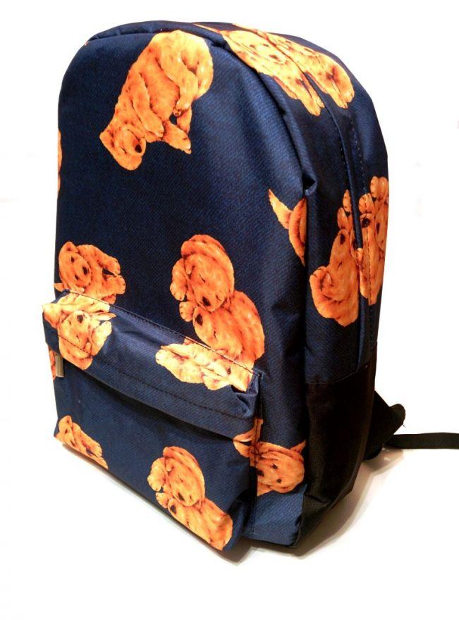 Рюкзак ПодЪполье Puppies on a blue background