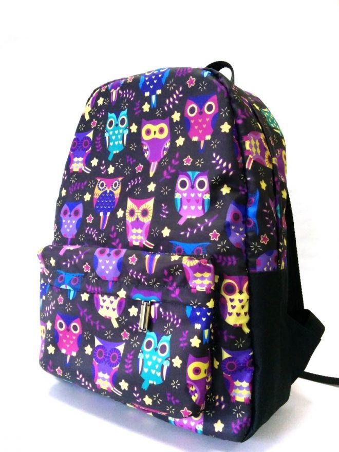 Рюкзак ПодЪполье Purple owl