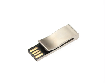 16GB USB-флэш корпус для Apexto AP-Bookmark  закладка клип серебряная