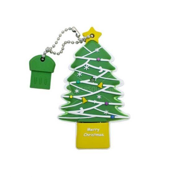 16GB USB-флэш накопитель Apexto TR003 Новогодняя елка
