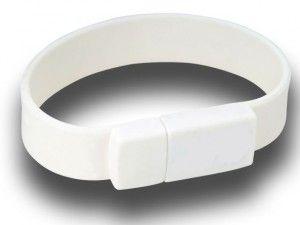 16GB USB-флэш накопитель Apexto U601A браслет белый