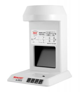 Инфракрасный детектор валют MERCURY  D-45CU TFT