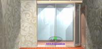 Зеркальный - встроенный шкаф купе на ул. Юбилейная