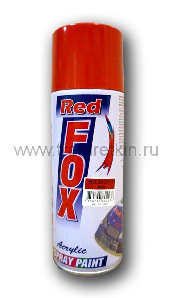 Краска-спрей RED FOX (красная RAL 3002)