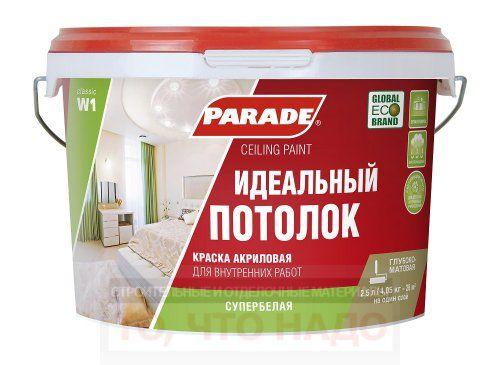 Краска PARADE W1