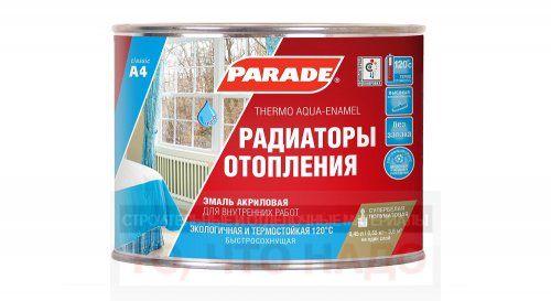 Эмаль PARADE A4 termo acryl полуматовая