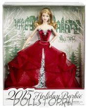 Коллекционная кукла Праздничная Барби 2015 - 2015 Holiday Barbie Doll