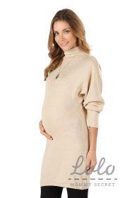 Платье для беременных Dr039.3 золотисто-бежевое
