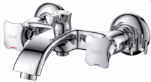 Смеситель для ванны D&K DA1383201 с держателем для душа